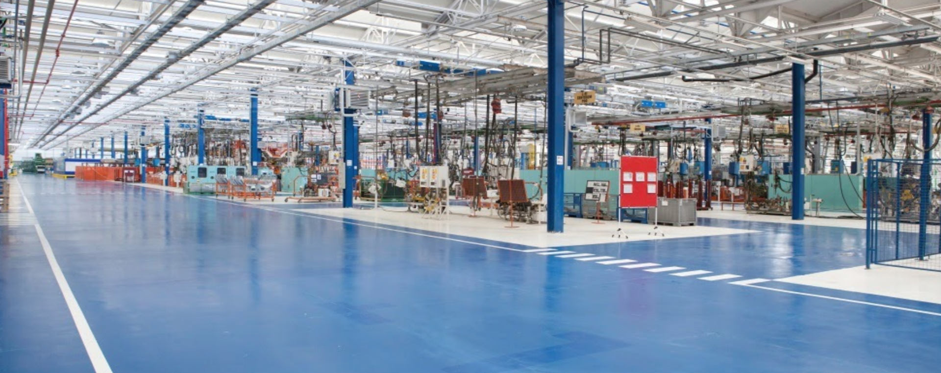 Nettoyage structure d'usine / Machinerie